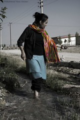 River (Mohammad Reza Hassani) Tags: water girl scarf river shawl