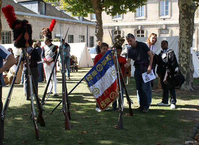 Armes et drapeaux napoléoniens