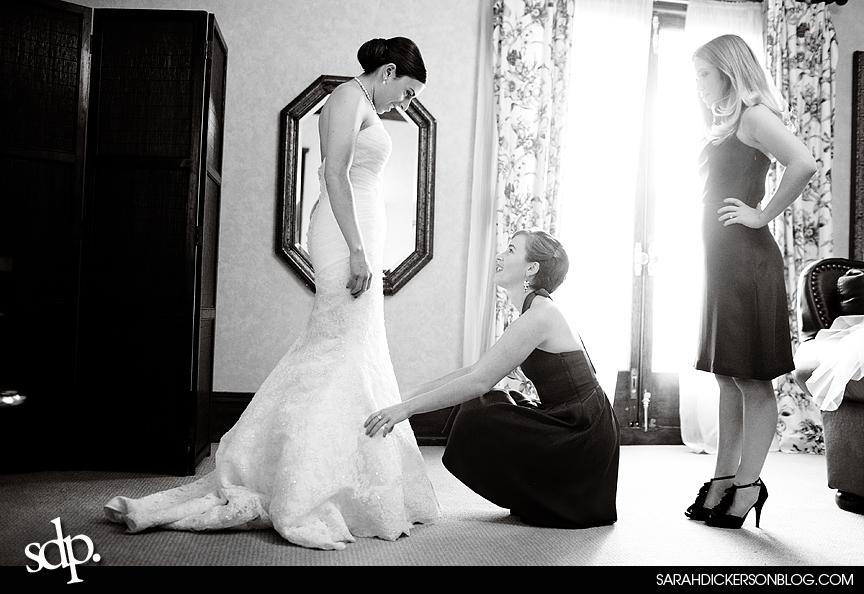 Kansas City wedding photographer Loose Mansion