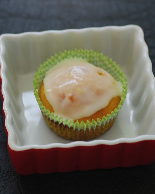 Margarita Cupcakes with Lemon Glaze