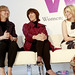 Director/Writers Nancy Meyers, and Nora Ephron with Actress Elizabeth Banks