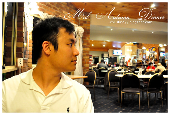 Mid Autumn Dinner at Blue Mountain Hotel: My Boi