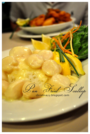 Mid Autumn Dinner at Blue Mountain Hotel: Pan Fried Scallop