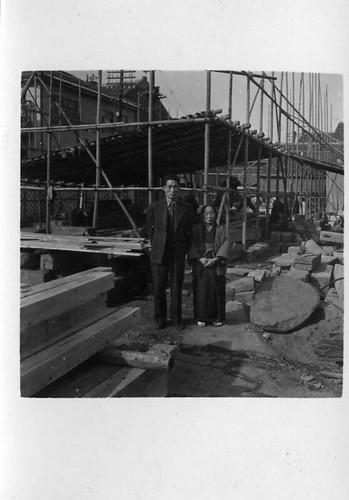 オランダ商館復元工事S30年1月・041