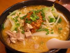 辛濃味噌ラーメン(750円)