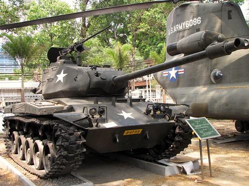 War Remnants Museum - American M41 Tank