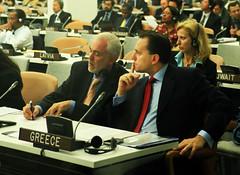 Ο ΥΠΕΞ κ. Δημήτρης Δρούτσας στα Ηνωμένα Έθνη (Υπουργείο Εξωτερικών) Tags: greek ministry politics greece un foreign affairs dimitris ελλαδα ελληνικό πολιτική δημήτρησ υπουργείο εξωτερικών δρούτσασ ηνωμένα droutsas έθνη