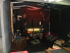 Western Themed Indoor Laser Shooting