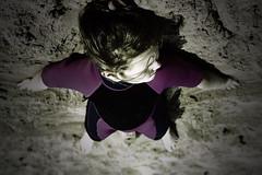 SandAngel (Simon Halstead Photography) Tags: beach sand crossprocessing poppy vignette wetsuit newbrighton cs5