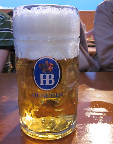 Maß Bier - schlecht gefüllt