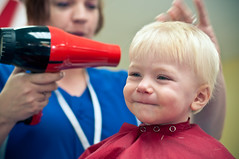 Blowdryer (Micah Taylor) Tags: cute kids hair cut 1yo taylorkiddos