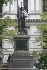 Statue of Benjamin Franklin in Boston (pegase1972) Tags: usa boston ma us unitedstates massachusetts mass tatsunis