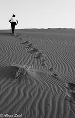 Hopeless in the desert B&W (Ahmad Saleh Photography) Tags: bw desert saudi arabia hopeless