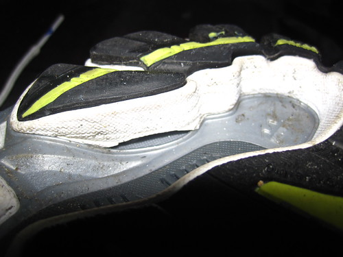 Mizuno Wave Inspire 6: Holey Sole, Batman!