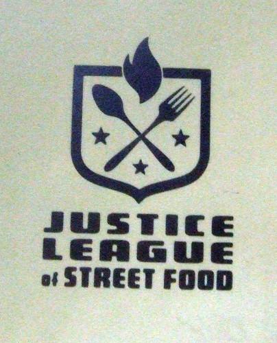 Justice League of Street Food Logo