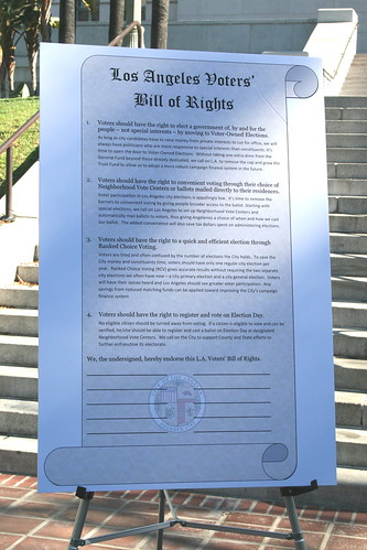 Los Angeles Voters' Bill of Rights