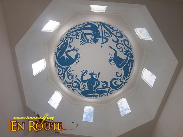 Thunderbird Dome Ceiling Art