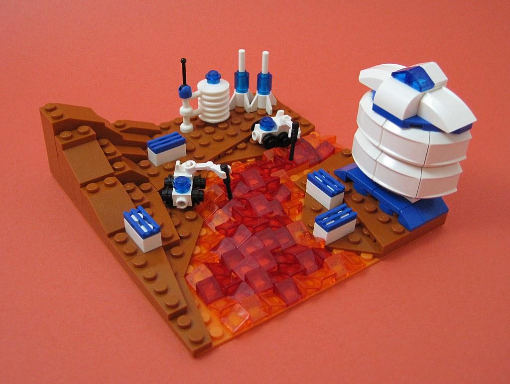 Mars Mining Colony