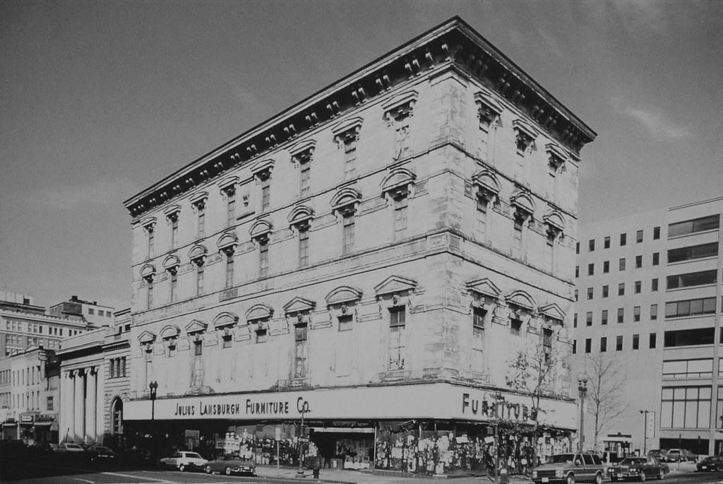 Old Masonic Temple / Julius Lansburgh Furniture Company