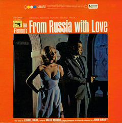 From Russia With Love (Jim Ed Blanchard) Tags: film movie graphicdesign album lp spy record seanconnery soundtrack 007 jamesbond johnbarry fromrussiawithlove mattmonro