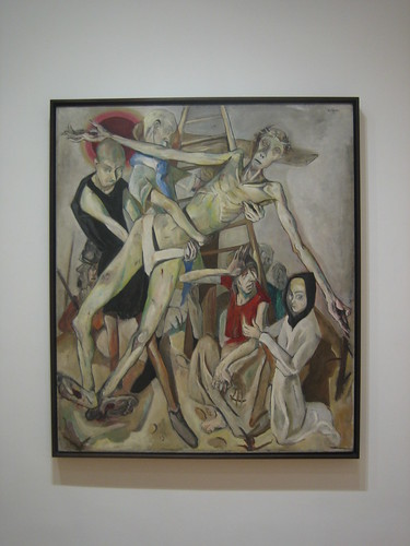 The Descent from the Cross, 1917, Max Beckmann _7522