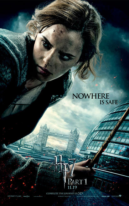 Harry Potter and the Deathly Hallows Part 1 Emma Watson London