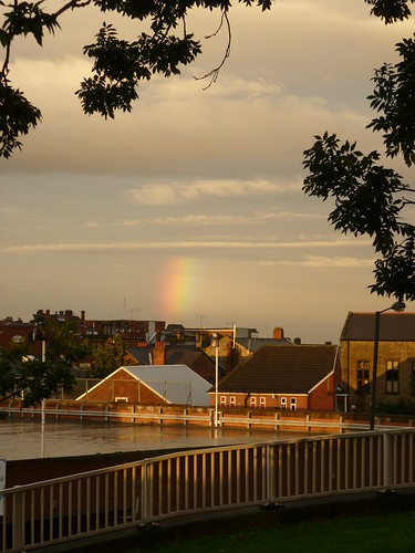 Partial Rainbow Over Barnsley