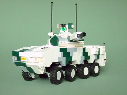 Patria XA-383 Tulwar (winter combat livery)