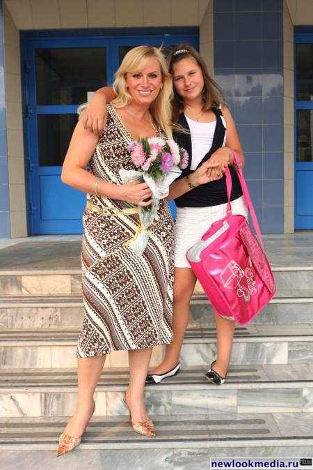 Гулькина и дочь Яна