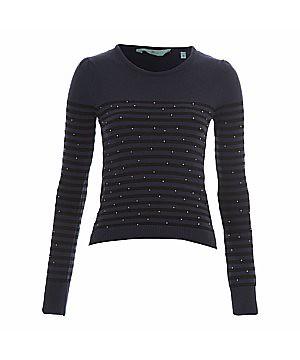 NL stripe sweater