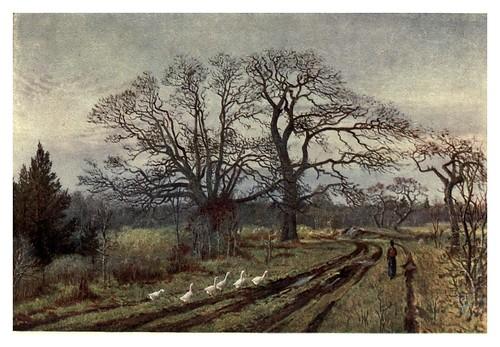 006-Comienzo de la primavera en Victoria-Canada-1907- Thomas Martin Mower