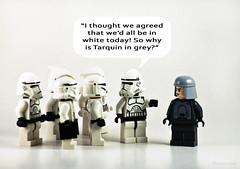 Star Wars Adventures 01 (RHiNO NEAL) Tags: starwars funny comic lego card rhino bubble stormtrooper greetings fashionista speech neal offthewall rhinoneal
