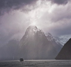 Milford Sound, Fiordland, NZ (lighttripper) Tags: new zealand sound milford fiordland