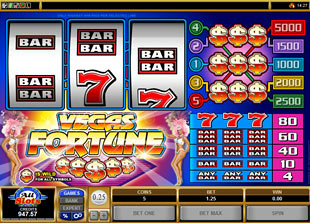 Vegas Fortune slot game online review