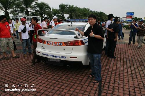 Mitsubishi Evo Lancer - Malaysia Police CAR
