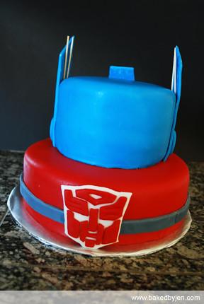 Transformers Taart
