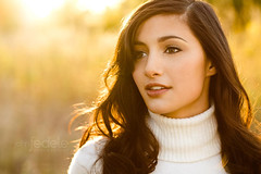 danielle_026 (John Fedele) Tags: light sunset portrait orange woman brown sun white color nature beautiful beauty yellow john hair wonder outdoors photography evening glow shot natural head young compression single eyebrow attractive backlit curl turtleneck shallow brunette fedele