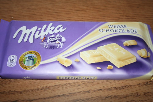 2010-10-01 - Shanghai - Junk Food - 01 - Milka white chocolate