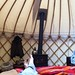 Cotswolds Yurt - View From The Bed