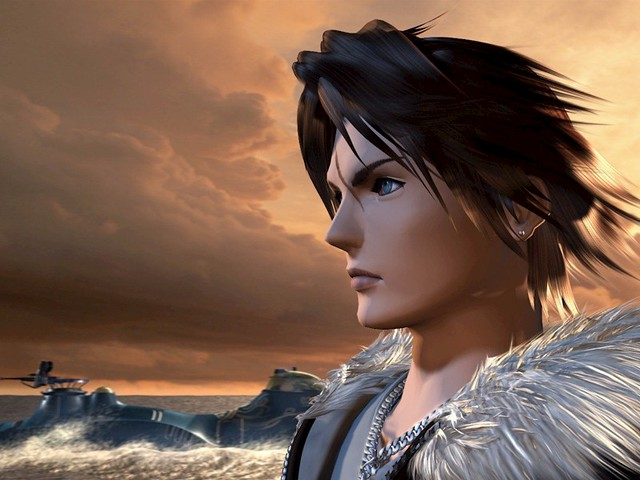 The ever so cool looking Squall Leonhart - a timeless cosplayers' favourite character