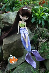 Mermaid Girl (foxifaeri) Tags: shop costume clothing doll handmade fairy fantasy bjd pullip mermaid blanche couture faerie balljointed foxi