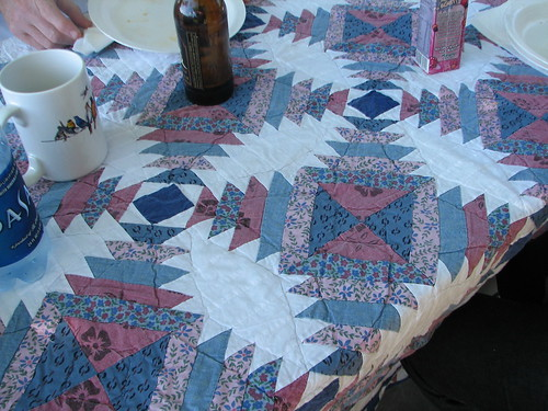 quilt table cloth