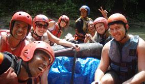 叢林探險提供的泛舟行程。出處:Expedition Jungle網站。
