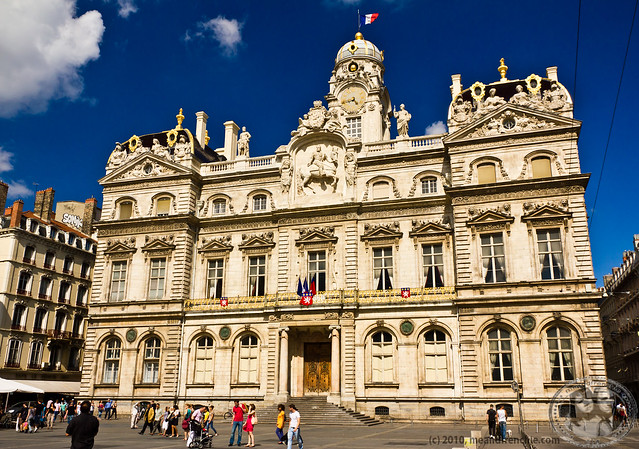 The City Hall Of Lyon