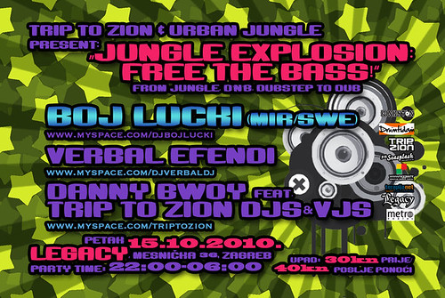 Jungle explosion: free the bass!