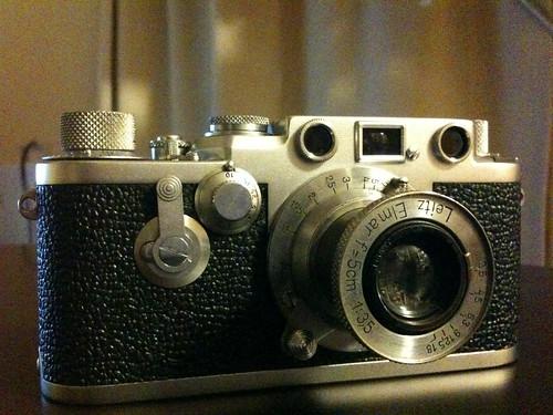 Leica IIIf + Elmar 50mm 1:3.5