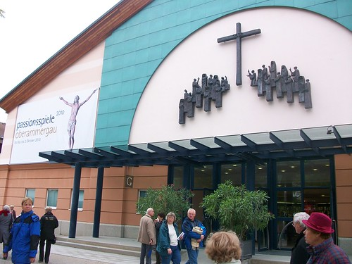 0367 - Oberamagau - Passion Play Theater