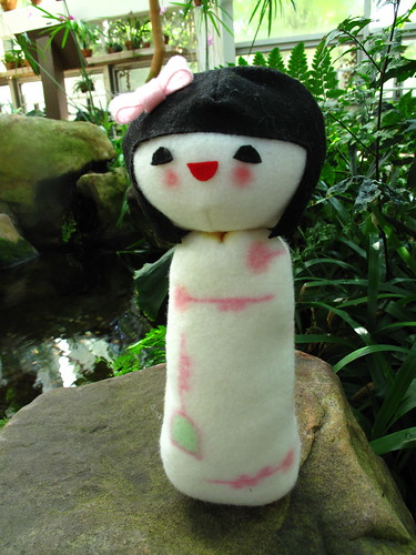 Kokeshi doll plush 9