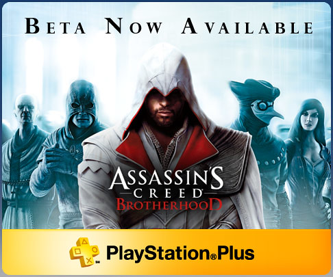 Assassins Creed Brotherhood Beta Banner