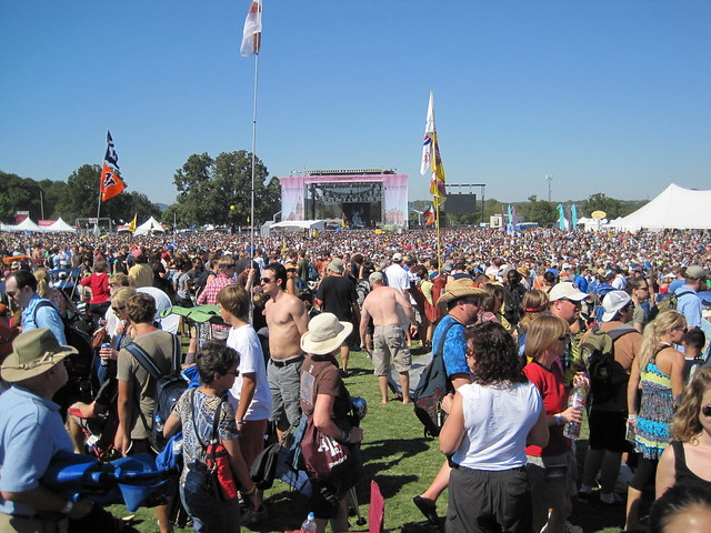 "Looking toward the ""Honda"" stage"